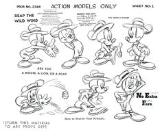 mickey mouse model sheet - Google 検索