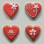 Red and White Mini Hearts - Various Designs