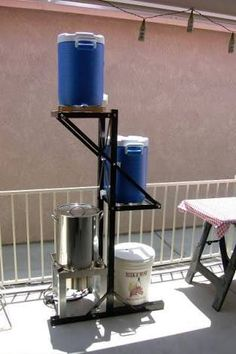 Image result for all grain home brewing equipment setup