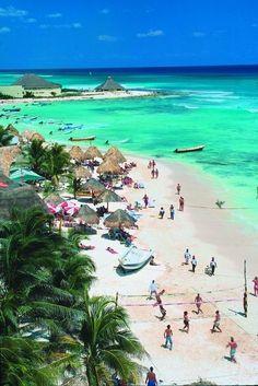 Cozumel, Mexico.... Across from our honeymoon resort in Cancun/Playa Del Carmen