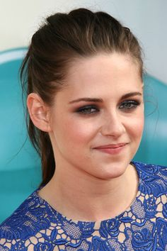 March 2012 A swept-back ponytail and smoky eye make-up for the Kids Choice Awards in Los Angeles.