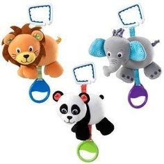 Baby Einstein Melody Makers. These adorable plush characters will delight baby on the go.