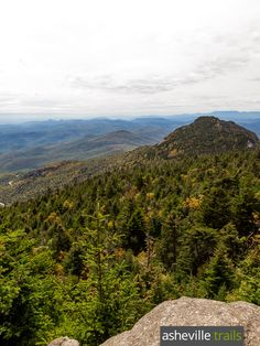 Hike the Grandfather Mountain Profile Trail to stunning summit views at Calloway Peak, just off the Blue Ridge Parkway near Banner Elk, NC