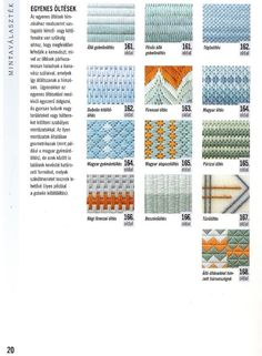 Gallery.ru / Фото #13 - 3 - OlgaHS Needlepoint Stitches, Plastic Canvas, Diagram, Embroidery, Book, Projects, Hardanger, Dots, Log Projects