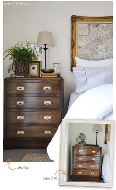 Master Bedroom Mini Makeover Before and After