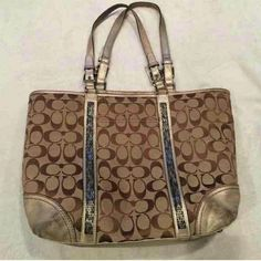 Coach Purse Beaded COMMENT IF INTERESTED!!!! Beaded Coach Purse  willing to negotiate on price/ trade! Coach Accessories