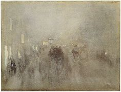 Brunner Sanina - Artist - James McNeill Whistle - Nocturne in gray and gold, Piccadilly, 1881 Pastel Landscape, Watercolor Landscape, Abstract Landscape, Watercolor Ideas, James Abbott Mcneill Whistler, Edward Steichen, Nocturne, Canadian Artists, American Artists