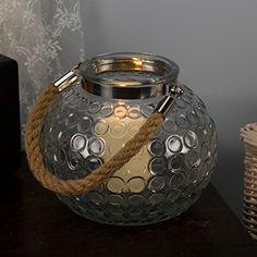 Glass Lantern Candle Holder Cosmos