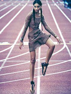 Publication: Marie Claire UK May 2015 Model: Chanel Iman Photographer: James Macari Fashion Editor: Tiffany Fraser