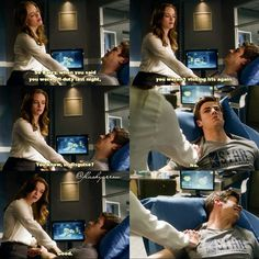 "#TheFlash 1x06 ""The Flash is Born"" - Caitlin and Barry"