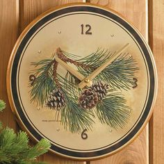 A great look for any room in the house. Pinecone image by Persis Clayton Weirs…