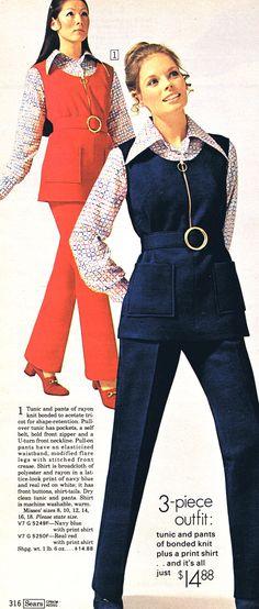 groovy 70's pantsuits