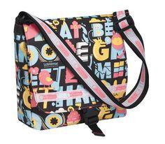 leSportsac messenger bag. alphabet? animals? awesome. #bags