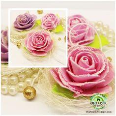 foamiran flowers TWÓRCZY POKOIK BBART-http://bbartcards.blogspot.com/