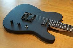 Harley Davidson Wrinkle Black Custom Guitar