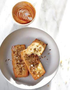 Parmesan Shortbread with Fennel and Sea Salt Recipe | Epicurious.com