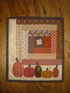 Pumpkin Candle Mat ...