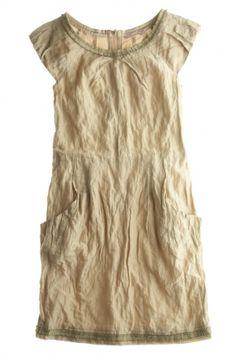 Plain and simple   Natural white   dress - calypso  Love Christiane Cello at Calypso
