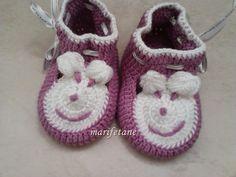 Bebek ayakkabı, crochet, baby bothes, patik modeli, http://www.marifetane.com/2015/04/tig-isi-bebek-patigi-modeli.html