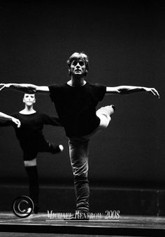 """I do not try to dance better than anyone else. I only try to dance better than myself.""  -Mikhail Baryshnikov"