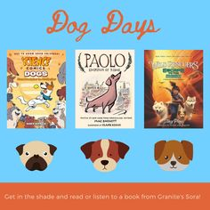 Library Posters, Sora, Dog Days, Bestselling Author, Graphics, Comics, Reading, Books, Collection