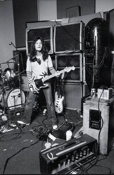 A young Mr. Van Halen