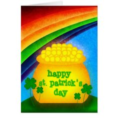 Happy St. Patrick's Day Card - tap to personalize and get yours