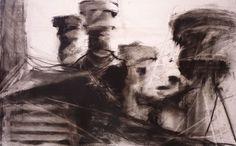Rooftop - Garrett J. Cook, Artist - Oil Paintings & Charcoal Drawings