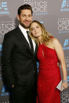 We are in love with Emily Blunt and John Krasinski's love! Catch their best red carpet moments together, here: