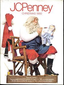 JC Penney Christmas Wish Book catalog for 1980. Get the markers ready!