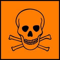 What Exactly Is a Toxic Chemical?: This is the hazard symbol for toxic substances.