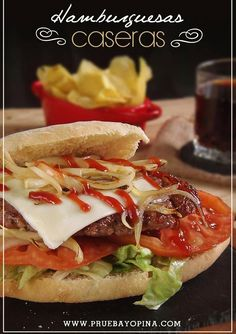 hamburguesas caseras receta