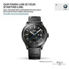 Ball watch BMW GMT Chronograph Limited Edition.