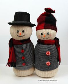 Updated… A New Look for an Old Snowman