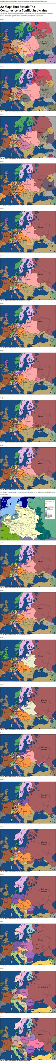 Maps That Explain The Centuries-Long Tension In Eastern Ukraine | pl fm ... https://de.pinterest.com/tordoe/polska/