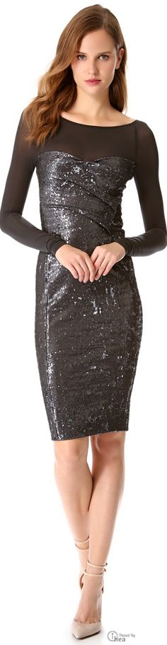 Donna Karan | Sequin Dress.