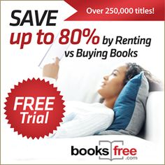 Hurry over at booksfree and get your free trial + upto 80% Discount! (Check www.couponcup.net for more deals)