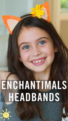 Look just like your favorite Enchantimals with these incredible, easy headbands. Diy Headband, Headbands, 4th Birthday Parties, 8th Birthday, Birthday Ideas, Fun Projects For Kids, Bunny Party, Fairy Jars, Doll Party