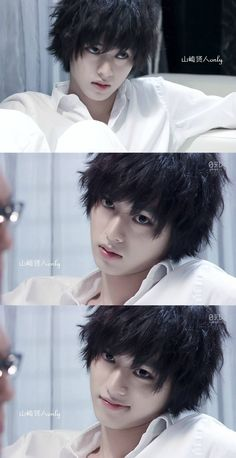 Kyah😍 L from death note real life Death Note I, Death Note Live Action, L Cosplay, Cosplay Anime, M Anime, Anime Guys, Kento Yamazaki Death Note, Cute Japanese Boys, Japanese Men