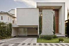 Resultado de imagem para imagens de fachadas de sobrados modernos