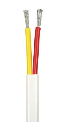 """BATTERY CABLE 4 GAUGE 12/"""" 1FT RED SET OF 4 CABLE WIRE TINNED MARINE BOAT WIRING"""