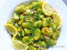 Zeytinyağlı Taze İç Bakla   Tarifler Homemade Beauty Products, Potato Salad, Vegetarian Recipes, Sweet Tooth, Health Fitness, Meals, Dishes, Vegetables, Cooking