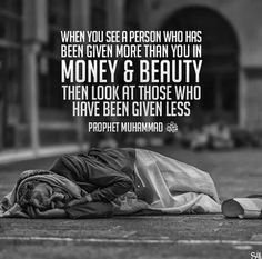 Be thankful for what you have when you ever feel like complaining in assets and in wealth!!!/NZI