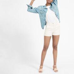 Women's Cotton Twill Short   Everlane