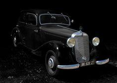 Mercedes-Benz Typ 170 D (W 136) in black & black