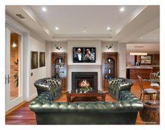 """RECESS LIGHTING - HARDWOOD FLOORS"" by arjanadesign ❤ liked on Polyvore featuring interior, interiors, interior design, home, home decor, interior decorating, Cyan Design, Spectrum, Luigi Bormioli and kitchen"