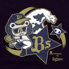 オリックス・バファローズ公式オンラインショップ TOKIDOKI×Bs Tシャツ