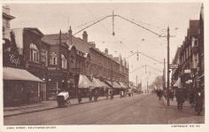 VINTAGE POSTCARD HIGH STREET SOUTHEND ON SEA