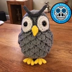Excited to share the latest addition to my #etsy shop: Amigurumi Owl Pattern, crochet owl pattern, owl pattern, crochet owl, amigurumi owl #crochet #amigurumiowl #amigurumipattern #crochetowlpattern #crochetowl #owlpattern