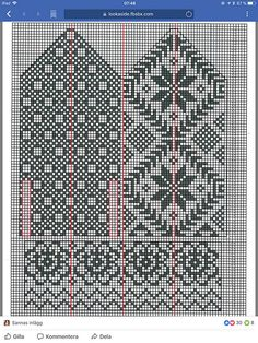 Ravelry: Rallarvanten pattern by Ulla-Britt Eng Knitted Mittens Pattern, Fair Isle Knitting Patterns, Knit Mittens, Knitting Charts, Knitting Designs, Free Knitting, Norwegian Knitting, Knitting Accessories, Craft Patterns